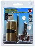 Kraftmann latón cilindro de cierre 60mm 8091