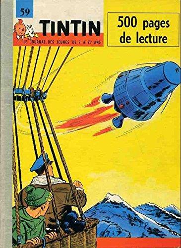 59 Tintin Recueil du journal de Tintin . Du fascicule d'occasion  Livré partout en Belgique
