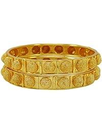Banithani 18k ethnique indien bangle plaqué or bracelets traditionnels  bijoux de mariage ... bd3fc9f38dd
