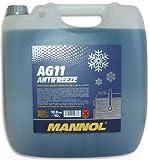 MANNOL Antifreeze AG11-40 Kühlerfrostschutz Kühlmittel 10L MN4011-10