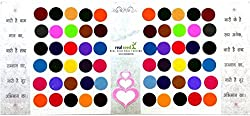 Chanderkash Matching Plaza Forehead Multicolored Big Size Forehead Multicolor Bindis