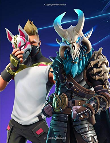 Price comparison product image Fortnite - Drift And Ragnarok: Journal Paper Notebook