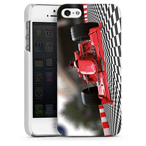 Apple iPhone 5s Housse Outdoor Étui militaire Coque Formule 1 Voiture de sport Voiture CasDur blanc