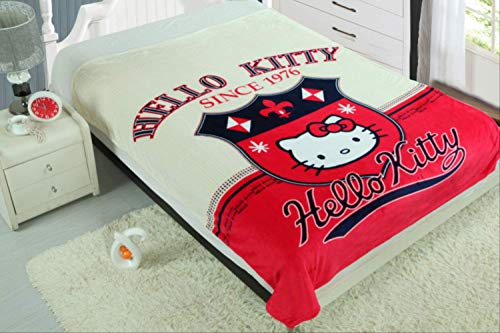 Zller2587 Manta Dibujos Animados Hello Kitty Manta