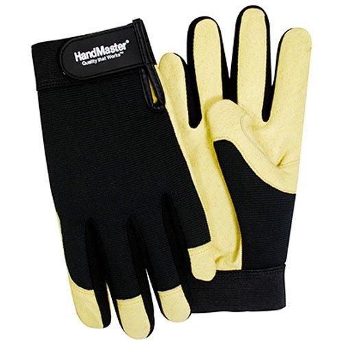 handmaster-pgp07t-magid-spandex-and-leather-work-glove-medium-black-beige-1-pack