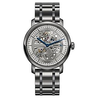 Rado-Diamaster-Herren-Armbanduhr-41mm-Armband-Keramik-Grau-Automatik-R14132122