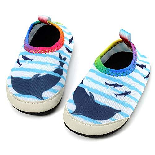 SCIEU Wasserschuhe Strandschuhe Mädchen Jungen Aquaschuhe Schwimmschuhe Barfußschuhe Surfschuhe Kinder Kleinkind Baby für Beach Pool