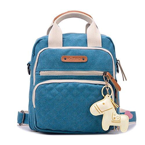 zaino/Borse/borsetta/Piccolo pacchetto di piazza/borsa di tela/zaino/borsa a tracolla/Messenger Bag-C D