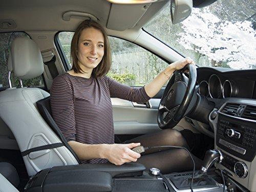XYZLEO Coprisedile Riscaldato Universale Seggiolino Auto Riscaldato 2 PCS 12V Riscaldamento Rapido Regolabile Automatico Sedili Riscaldati per Auto Inverno Caldo Coprisedili Riscaldati