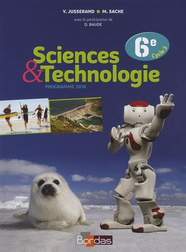 Sciences & Technologie 6e