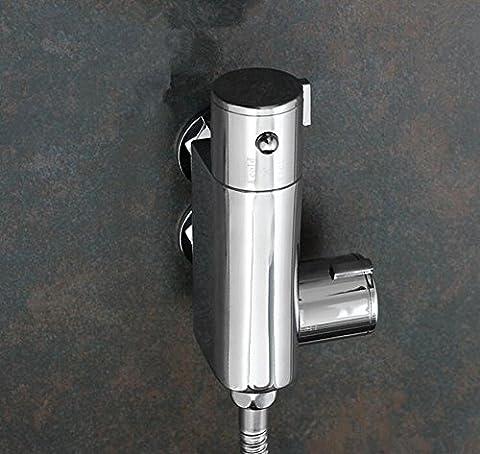 MangeooDie Smart Thermostat installiert Vertikale Kupfer Dusche Bidet Armatur Spülen Kalt-und Warmwasser Mischventil