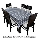 #7: Dream Care™ Designer Waterproof Dining Table Cover 6 Seater 60x90 Inches SAMS42