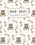 #8: Planner July 2018-December 2019: Two Year - Daily Weekly Monthly Calendar Planner 18 Months July 2018 to December 2019 for Academic Agenda Schedule Volume 7 (Academic Planner 2018-2019)