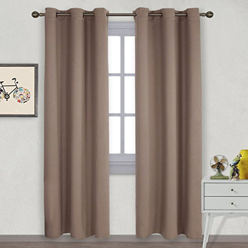 Blackout Curtains Drapes Thermal Insulated