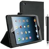 Kolay Etui de protection avec fonction support pour Apple iPad Mini et iPad Mini avec écran Rétina + stylet  - - schwarz