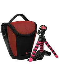 Delsey Gopix 160Colt Juego con trípode de viaje para Nikon D5500D5300D5100d53300D3200
