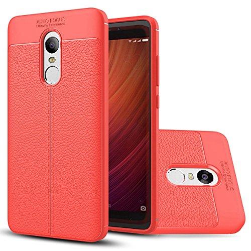 XiaoMi 6 / 6E / 6P Weich Hülle,EVERGREENBUYING flexibel Silikon Cover TPU MCE16 Tasche Ultra-dünne Handyhülle Rückschale Case für XIAOMI 6 / Mi 6 Azurblau Rot