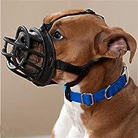 JWPC Réglable Respirant Coque en Caoutchouc de Silicone Chien Muselières - Sécurité pour Animal Domestique Chiot Muselières Masque pour Mordre/Aboyer/Mastication