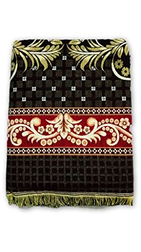 Solapur Chadar {Bedsheet} {Galicha} [100% Cotton] (90