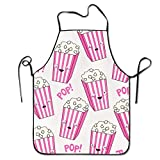 tianjianzulinyouxiangongsi Popcorn Funny Intended For Teens Kitchen Apron One Size Fits Resists Attitude Aprons
