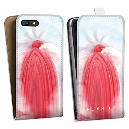 Apple iPhone X Silikon Hülle Case Schutzhülle HIEN LE Fashionweek Vogel Downflip Tasche weiß