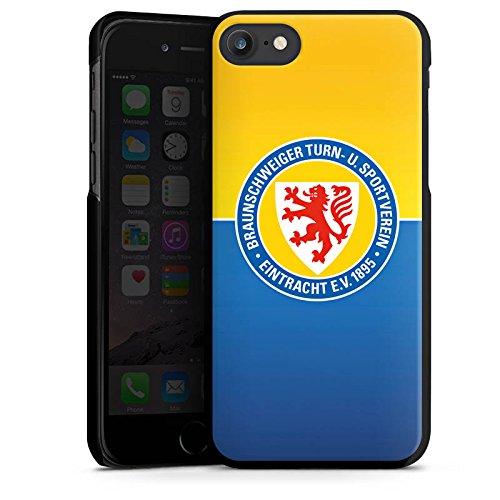 Apple iPhone 7 Tasche Hülle Flip Case Eintracht Braunschweig Fanartikel BTSV Hard Case schwarz