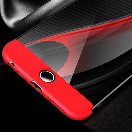 Ultra Slim Thin Custodia per iPhone 7Plus, MAOOY Luxury Hybrid 3in1 Hard PC Plastic Back Case con Utilizzo Completo per iPhone 7 Plus, Antiurto Antipolvere Antigraffio Ultra Protettiva per iPhone 7Plu Blu Navy 1