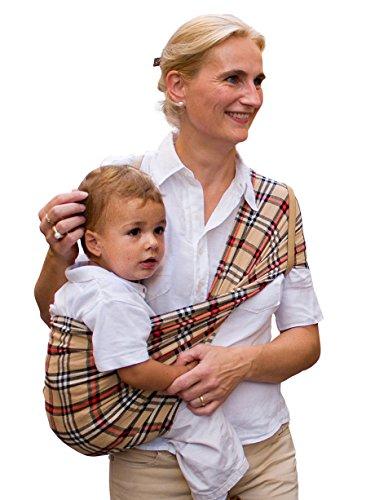 Babytuch - das Tragetuch ohne Knoten (6, Klassisch Karo)