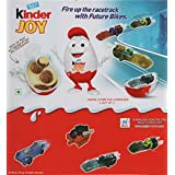 3 Boxes (9 Eggs) Surprise Chocolate JOY for BOY with Hot Wheels Inside by Kinder