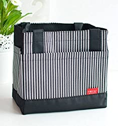 Ez Life Thermal Lunch Box Bag - Black