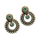 Ramleela Dangle Earring with an Ethnic L...