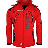 Geographical Norway Hombre Softshell Funciones Chaqueta Para Exterior impermeable