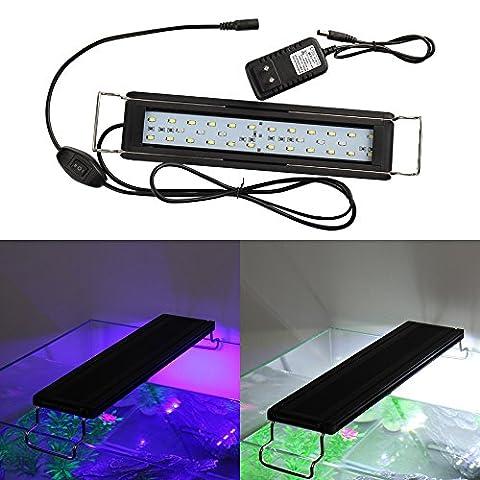 MUMENG Aquarium Lampe,AC100-240V 13W Aquarium Tube Luminaires D