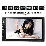 KKmoon Universal 7 Zoll 2 Din Auto-Stereoanlage UKW-Radio MP5 Player Mit HD Touch-Screen Unterstützt BT USB/TF AUX-Eingang …