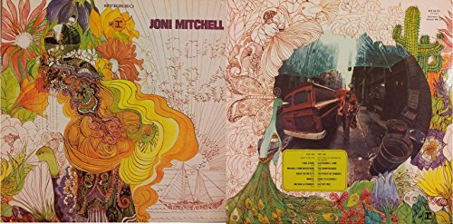 JONI MITCHELL - Dog Eat Dog (LP/Vinile/33 giri) USATO BUONO