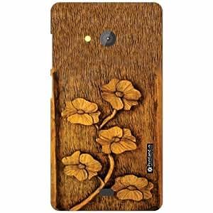 Microsoft Lumia 540 Dual SIM Back Cover - Silicon Wood Designer Cases