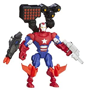Marvel – Super Hero Mashers – Iron Patriot – Figurine à Assembler (Import Royaume-Uni)