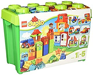 LEGO Duplo 10580 - Deluxe Steinebox, Kreatives Kinderspielzeug (B00I4IXBRY) | Amazon price tracker / tracking, Amazon price history charts, Amazon price watches, Amazon price drop alerts