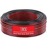 MX HIGH Performance Speaker Cable RED & Black 21 Wire OD 2.5 X 5.0 MM 50 MTR Coil - MX3976