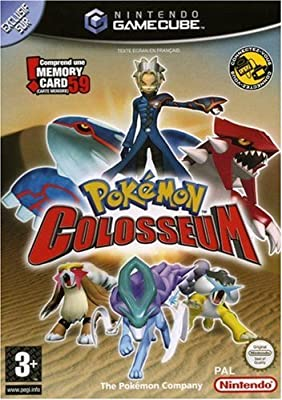 Pokemon Colosseum includes 59 slot memory card - GameCube - PAL