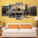 ZEMER Spiel Forza Motorsport Poster Leinwanddrucke 5 Stück Moderne Kunstwerke Wandkunst Für Office Home Walls Decor,B,20x30x2+20x40x2+20x50x1