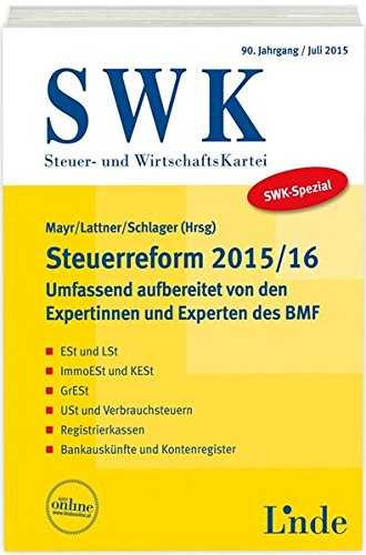 SWK-Spezial Steuerreform 2015/16