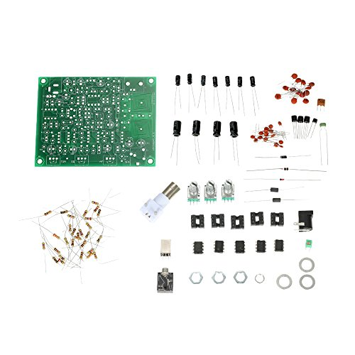 KKmoon Airband Radio Receiver DIY Kit, Luftfahrt Radio Raumfahrt Wellenband Empfänger Bausatz mit Hoher Empfindlichkeit Aviation Flugleitungsturm Anruf