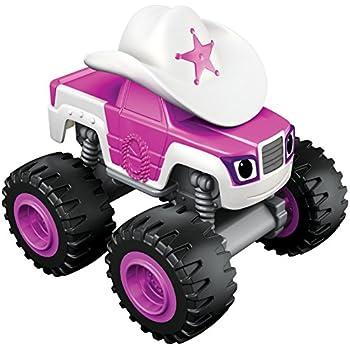 Blaze et les Monster Machines–Véhicule de base Joyaux Magiques (Mattel CH58)