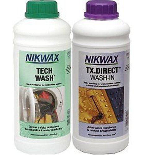 Nikwax Twin Tech Wash TX Direct 1 Litre Cleaning One Size Clear