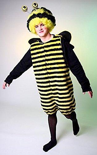 Festartikel Müller Bienenkostüm Kostüm Biene Tierkostüm Hummel (Fleißige Biene Erwachsene Kostüme)