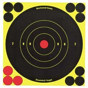 Birchwood Casey Shoot-n-c 15,2cm Bull d'aigle Cible, 12cibles