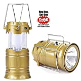 #9: BUY 1 GET 1 FREE SOLAR LAMP WITH LED Solar Emergency Light Lantern + USB Mobile Charging +Torch point/ 2 Power Source Solar/ Travel Camping Lantern