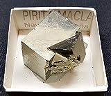 Boîte de Pierre Minérale Brute Pyrite Macla Pierres Lithothérapie Chakra Lotto2