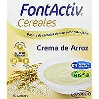 Fontactiv Crema de Arroz Suplemento Nutricional - Paquete de 2 x 300 gr - Total: 600 gr